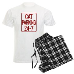 Cat Parking Men's Light Pajamas
