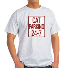 Cat Parking Light T-Shirt