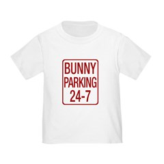 Bunny Parking Toddler T-Shirt