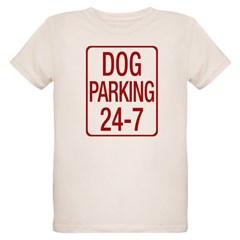Dog Parking Organic Kids T-Shirt