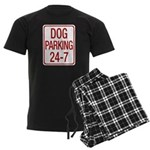 Dog Parking Men's Dark Pajamas