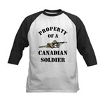 Property of Canadian Soldier Kids Baseball Jersey