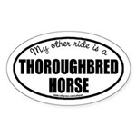 Thoroughbred Horse Decal