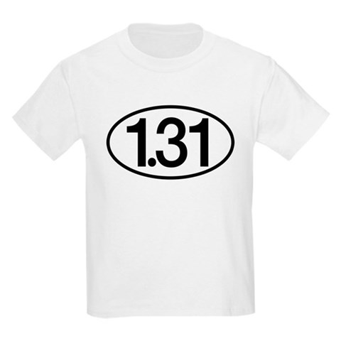 1.31 Half Marathon Humor Kids Light T-Shirt