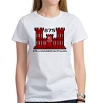 875th Engineer Battalion - Army Women's T-Shirt