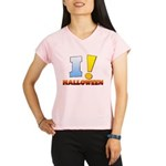 I ! Halloween Women's Double Dry Short Sleeve Mesh