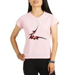 Vampire Bat 1 Women's Double Dry Short Sleeve Mesh