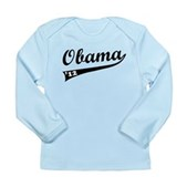 Obama 2012 Swish Long Sleeve Infant T-Shirt