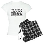 Logical Obama 2012 Women's Light Pajamas