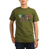 2up for America Organic Men's T-Shirt (dark)