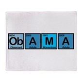 Obama Elements Stadium Blanket