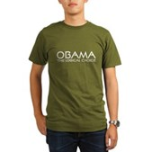 Logical Obama Organic Men's T-Shirt (dark)