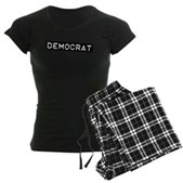 Democrat Label Women's Dark Pajamas