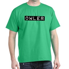 Owler Label Dark T-Shirt