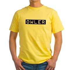 Owler Label Yellow T-Shirt