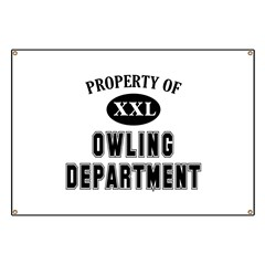 Property of Owling Dept Banner