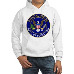 Official Owling Dept Seal Hooded Sweatshirt