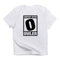 Content Rated Owler Infant T-Shirt