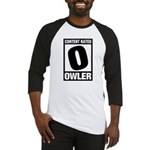 Content Rated Owler Baseball Jersey