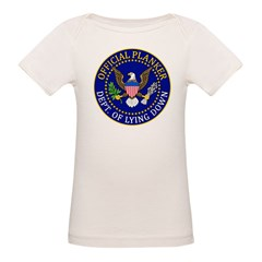 Official Planker Seal Organic Baby T-Shirt