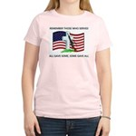 Memorial Day Some gave all .. Women's Pink T-Shirt