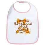 Ivrea Battle Of The Oranges Souvenirs Gifts Tees Bib