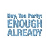 Hey, Tea Party 38.5 x 24.5 Wall Peel