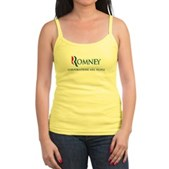 Anti-Romney Corporations Jr. Spaghetti Tank
