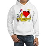 I Heart Schoolhouse Rock! Hooded Sweatshirt