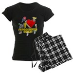 I Heart Schoolhouse Rock! Women's Dark Pajamas