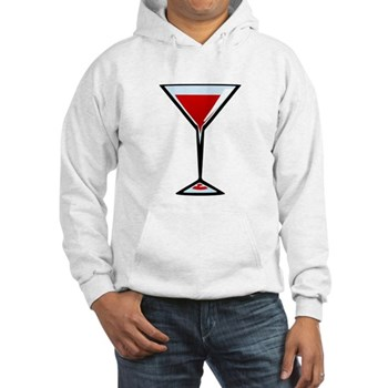 Vampire Martini Hooded Sweatshirt