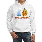 I Love Halloween Hooded Sweatshirt