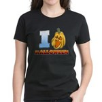 I Love Halloween Women's Dark T-Shirt