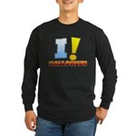 I ! Halloween Long Sleeve Dark T-Shirt