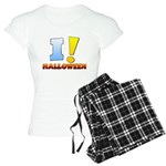 I ! Halloween Women's Light Pajamas