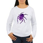 Purple Spider Women's Long Sleeve T-Shirt