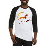 Flying Vampire Bats Baseball Jersey