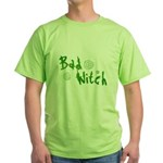Bad Witch Green T-Shirt