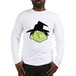 Happy Green Witch Long Sleeve T-Shirt
