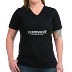 Generic werewolf Costume Women's V-Neck Dark T-Shirt
