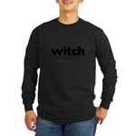 Generic witch Costume Long Sleeve Dark T-Shirt