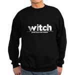 Generic witch Costume Dark Sweatshirt (dark)