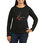 Bite Me Women's Long Sleeve Dark T-Shirt