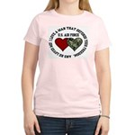 Air Force I love a man ... Women's Pink T-Shirt