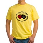US Navy I love a man... Yellow T-Shirt