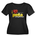 I Heart Peta Murgatroyd Women's Dark Plus Size Sco