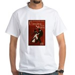 Distressed Retro DWTS Poster White T-Shirt
