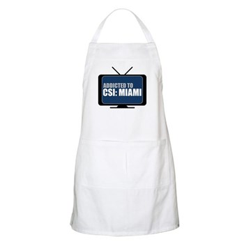 Addicted to CSI: Miami Apron