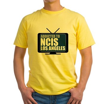 Addicted to NCIS: Los Angeles  Yellow T-Shirt