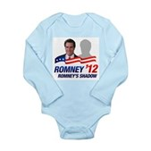 Anti-Romney Shadow Long Sleeve Infant Bodysuit